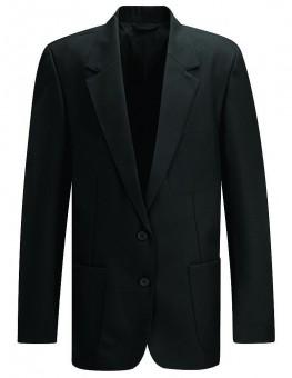 girls blazer black